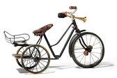 Old bike in retro style — Stock Photo