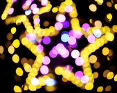 Natural bokeh lights — Stock Photo