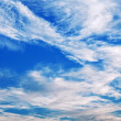 Blue sky and clouds — Stock Photo #39044113