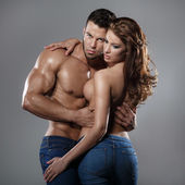 Passion woman and man — Stockfoto