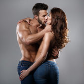 Passion woman and man — Foto Stock