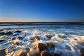 Twilight on the Baltic sea — Stock Photo