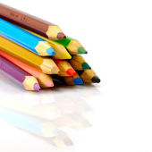 Pencils isolate — Stockfoto