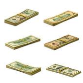 Bundle of money — Stock Photo