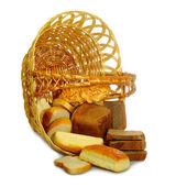 Inverted basket — Stock Photo