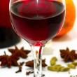 Stock Photo: Glass of wine