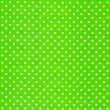 Image of green fabric with white polka dots — Stock Photo #50146039