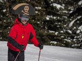 Esquiador pirata — Foto de Stock