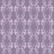 Pretty Purple Pattern — Stock Vector