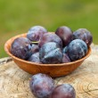 Royalty-Free Stock Photo: Fresh plums