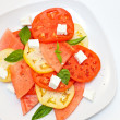 Stock Photo: Watermelon Salad with Feta