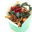 Stock Photo: Scented christmas decoration