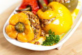 Stuffed peppers — Stock fotografie