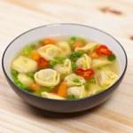 Tortellini soup — Stock Photo #25083249