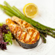 Grilled salmon — Stock Photo #25468881
