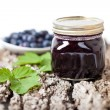Royalty-Free Stock Photo: Blueberry jam