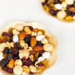 Dried fruit, nuts and seeds — Stock Photo