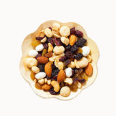Dried fruit, nuts and seeds — Stok fotoğraf