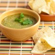Tomatillo salsverde, mexiccuisine — Stock Photo #26638431