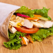 Chicken wrap — Stock Photo #27965315