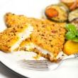 Постер, плакат: Fried fish fillet