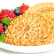 Traditional Italipizzelle — Stock Photo #30984175