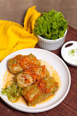 Stuffed cabbage — Stock Photo