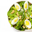 Caesar salad with eggs — Stock Photo #35571983