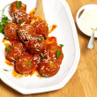 Meatballs in tomato sauce — Stock Photo #37007239