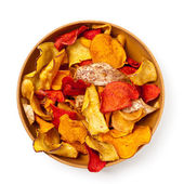 Vegetable Chips — Stock Photo