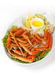 Crab beine — Stockfoto