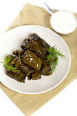 Stuffed Grape Leaves — Stock Photo