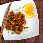 Orange Chicken — Stock Photo