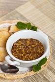 レンズ豆のスープ — ストック写真