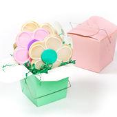 Flower cookies — Stock Photo