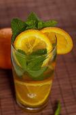 Herbata pomarańczowy lodu — Stockfoto