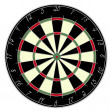 Stock Photo: Dartsboard