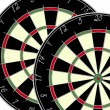 Royalty-Free Stock Photo: Two dartboards