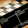Old clapboard — Stock Photo #21695741