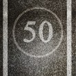 Speed limit — Stock Photo #21696389