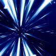 Stock Photo: Hyperspace