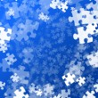 Royalty-Free Stock Photo: Random jigsaw pieces