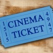 Royalty-Free Stock Photo: Cinema ticket