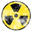 Nuclear sign — Stock Photo
