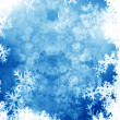 Royalty-Free Stock Photo: Frame formed by snowflakes