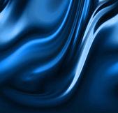 Blue drapes — Stock Photo