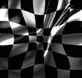 Racing flag — Stock Photo
