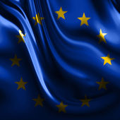 Flag of europe — Stock Photo