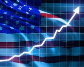 Good economic growth — Stock Photo