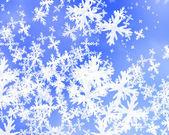 иллюстрация снежинка — Стоковое фото